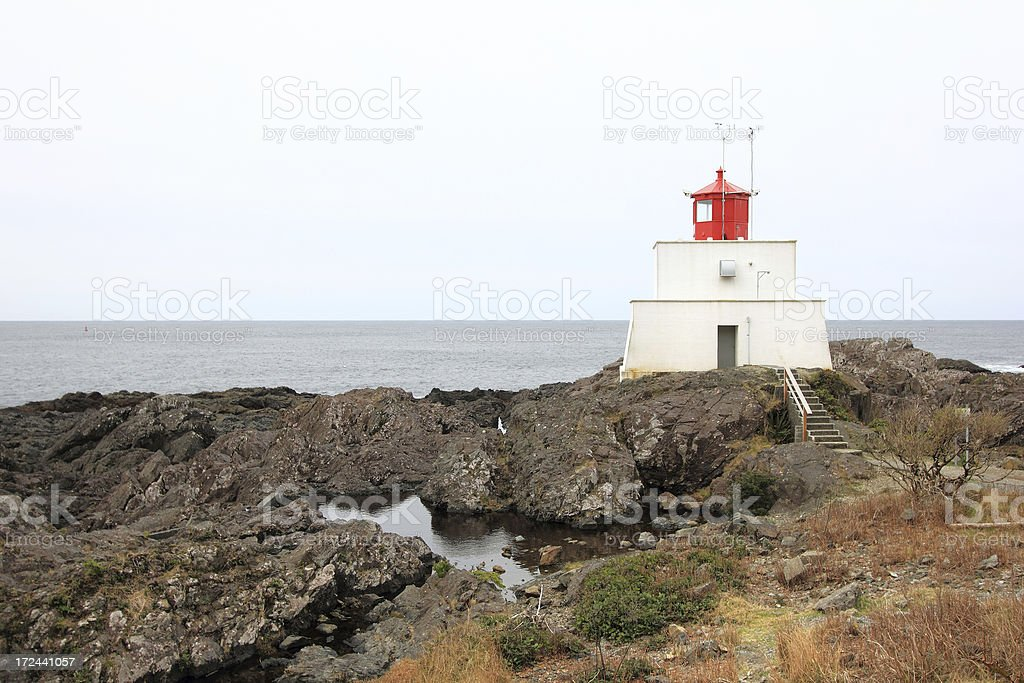 Amphitrite Lighthouse stock photo