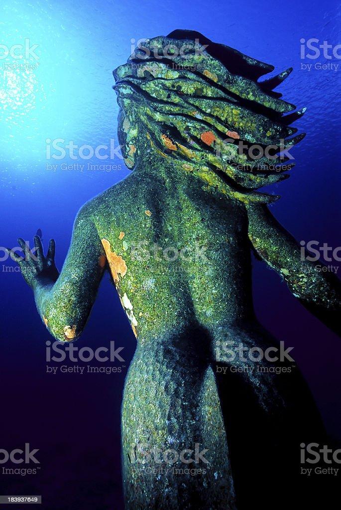 Amphitrite Queen of Sea stock photo