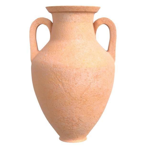 Amphora jar vase - foto stock