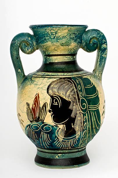 Amphora (Greek, replica) stock photo