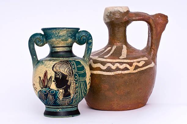 Amphoras (Greek, replica) stock photo