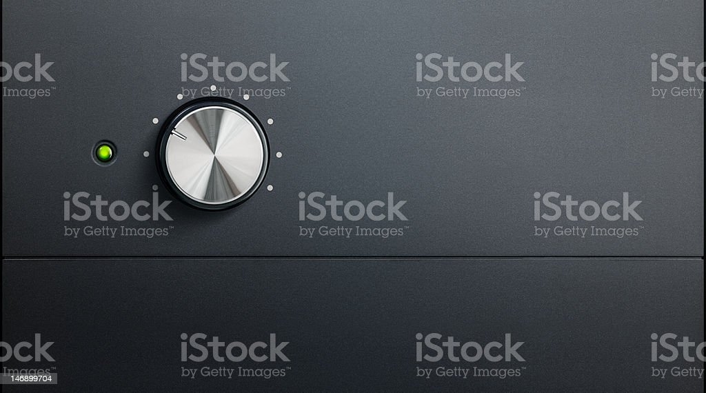 amplifier detail royalty-free stock photo