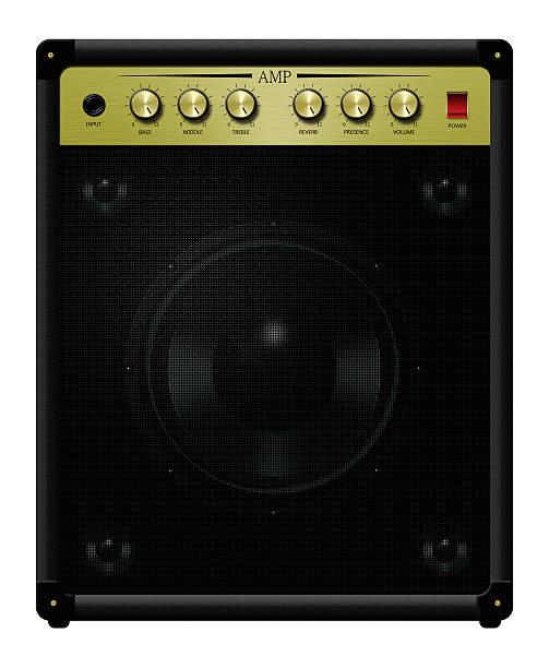 Amplifier Eleven stock photo