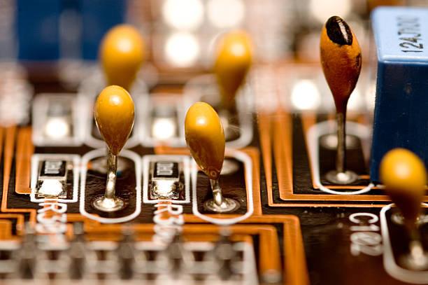 Amplifier - Macro 2 stock photo
