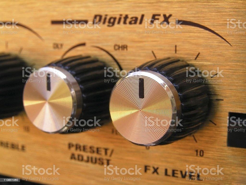 Amplifier stock photo