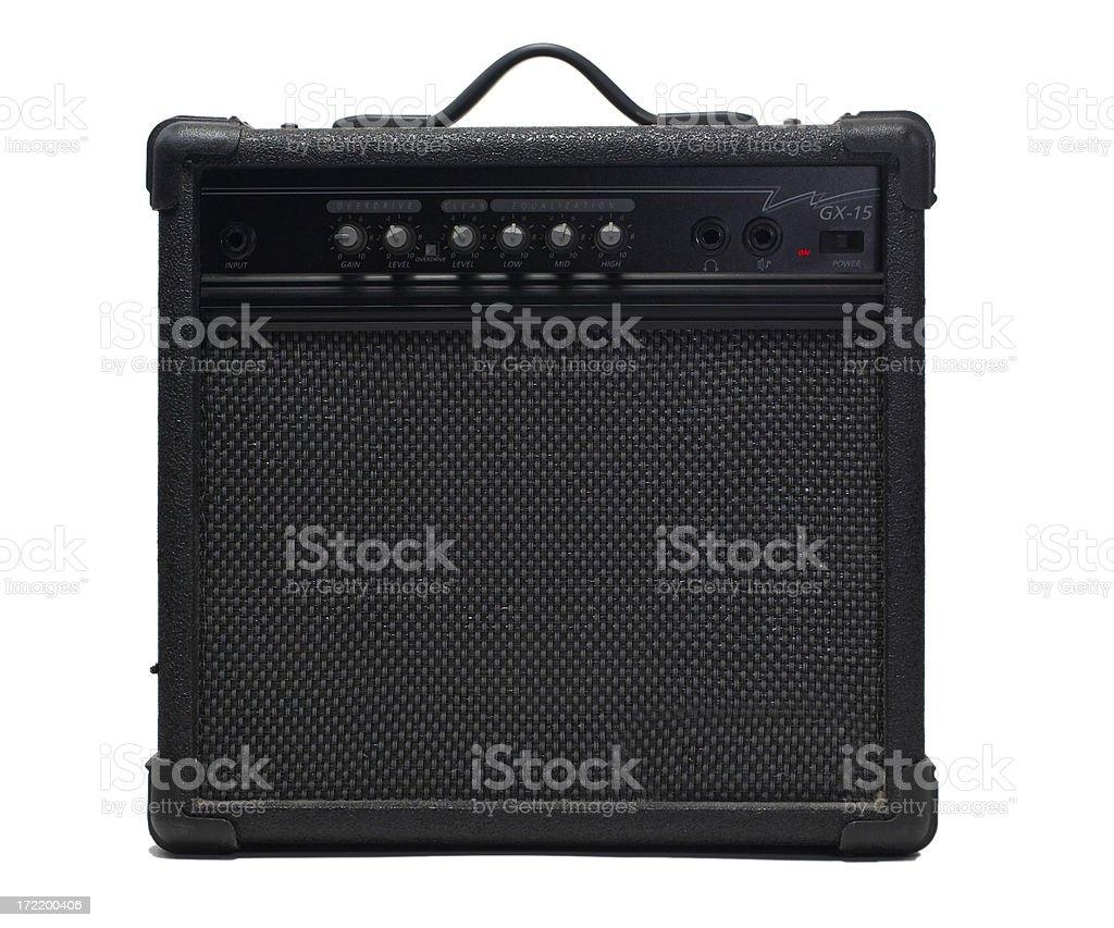 Amplifier (Guitar) stock photo