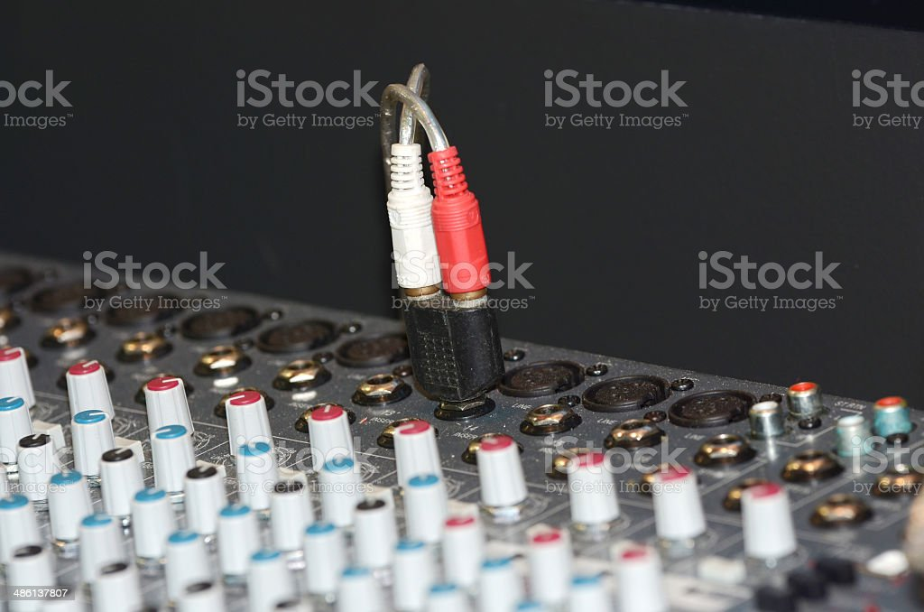Amplifier royalty-free stock photo