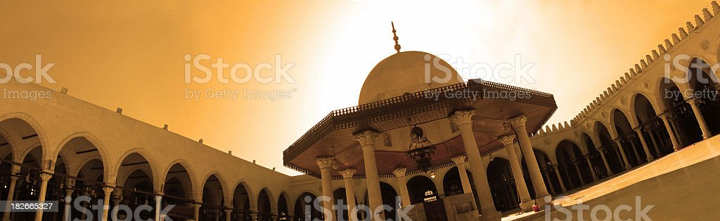 amr ibn el aas mosque LARGE FILE royalty-free stock photo