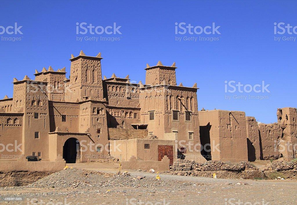 Amridil Kasbah in Skoura, Ouarzazate, Morocco stock photo