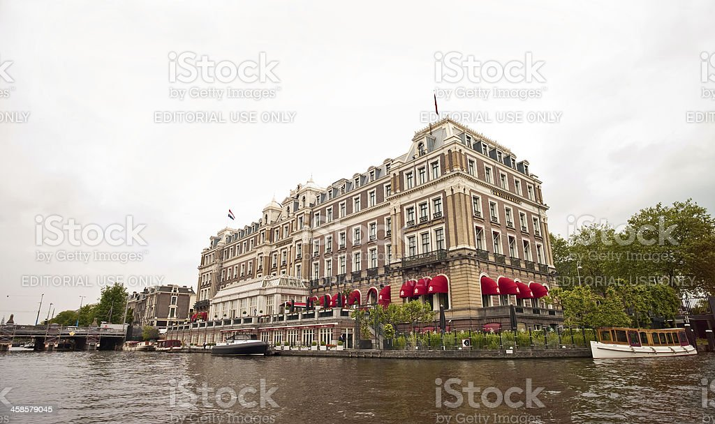 Amstel, Amsterdam stock photo