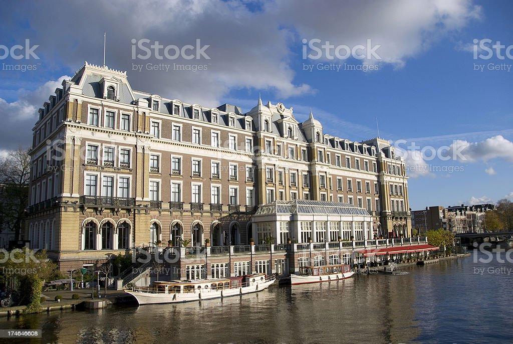 Amstel Hotel stock photo