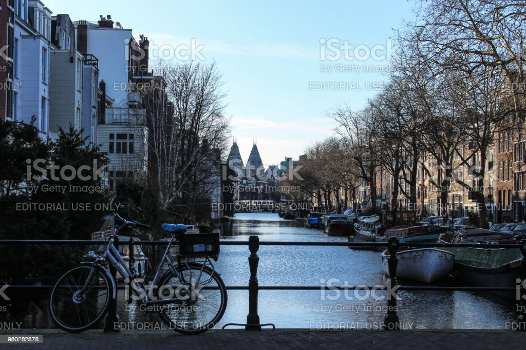Amsterdam, 2018 stock photo