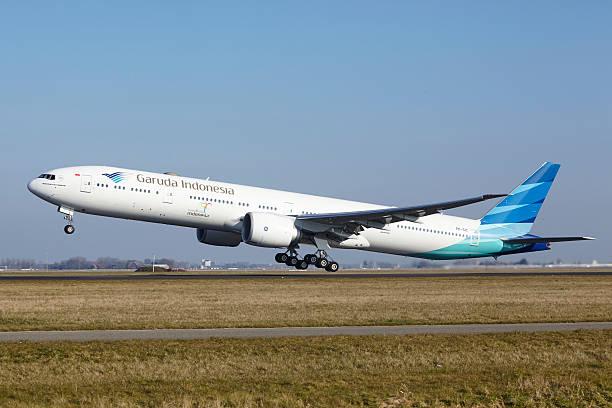 Amsterdam Flughafen Schiphol-Garuda Indonesien Boeing 777 ist Ermäßigung – Foto