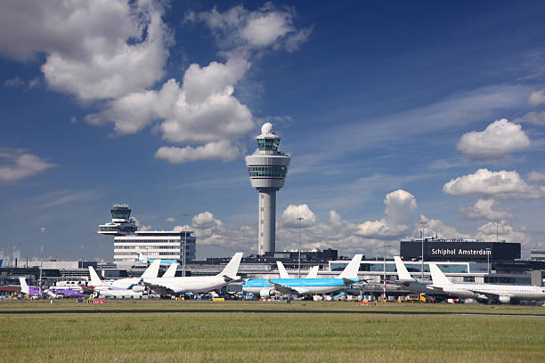 Best Amsterdam Schiphol Airport Stock Photos, Pictures