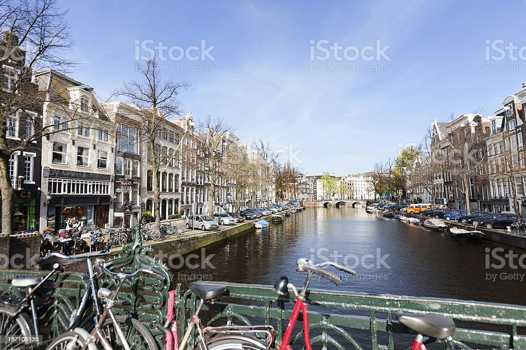 Amsterdam Architecture royalty-free stock photo
