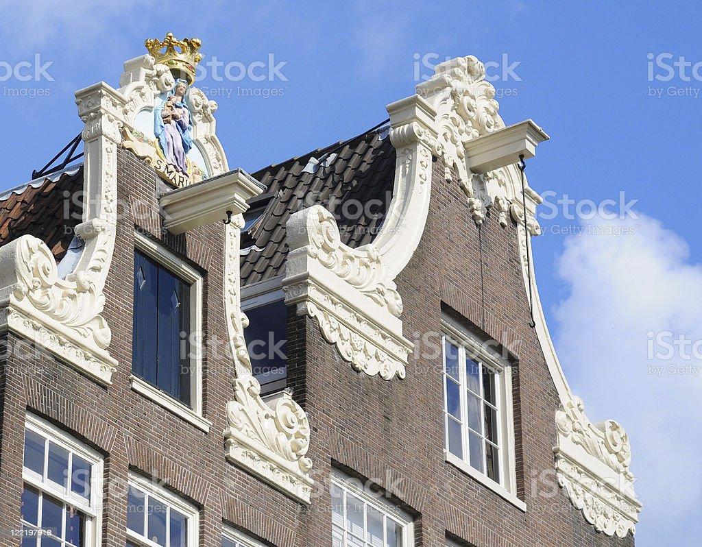Amsterdam beguinage stock photo
