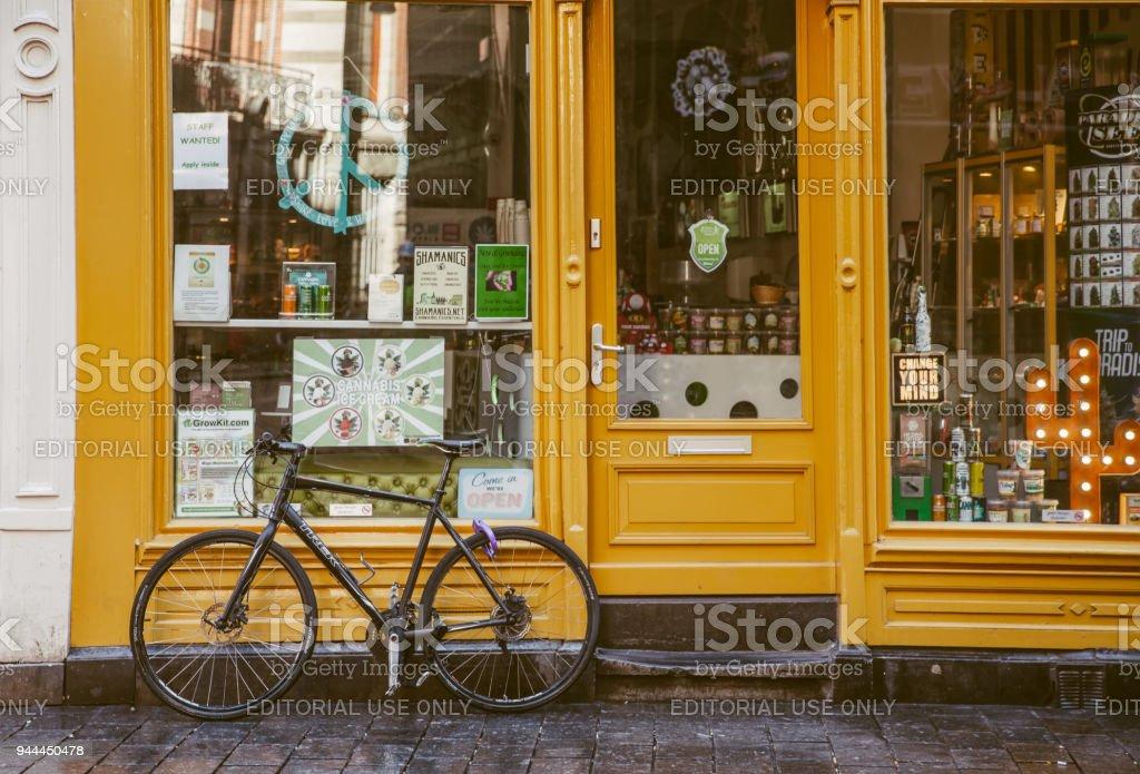 Amsterdam Bikes stock photo