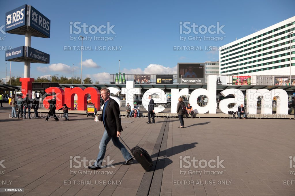 I amsterdam campaign royalty-free stock photo