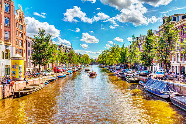 Amsterdam Kanal  – Foto