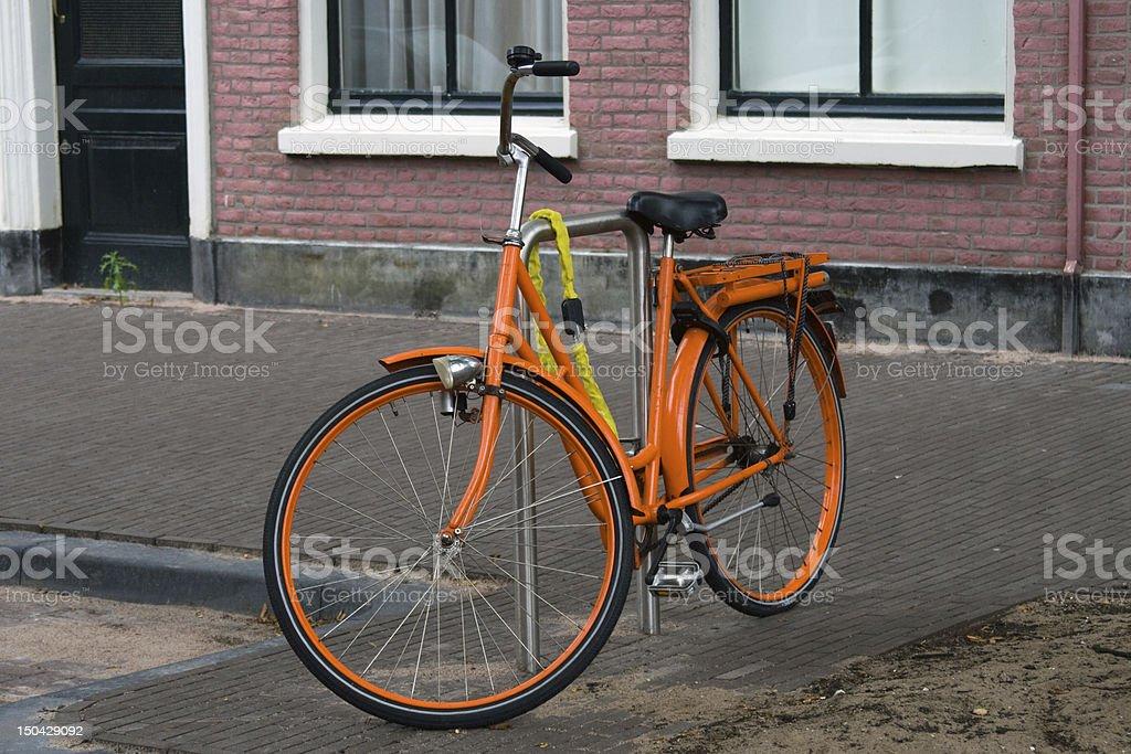Amsterdam City Holland Bike stock photo