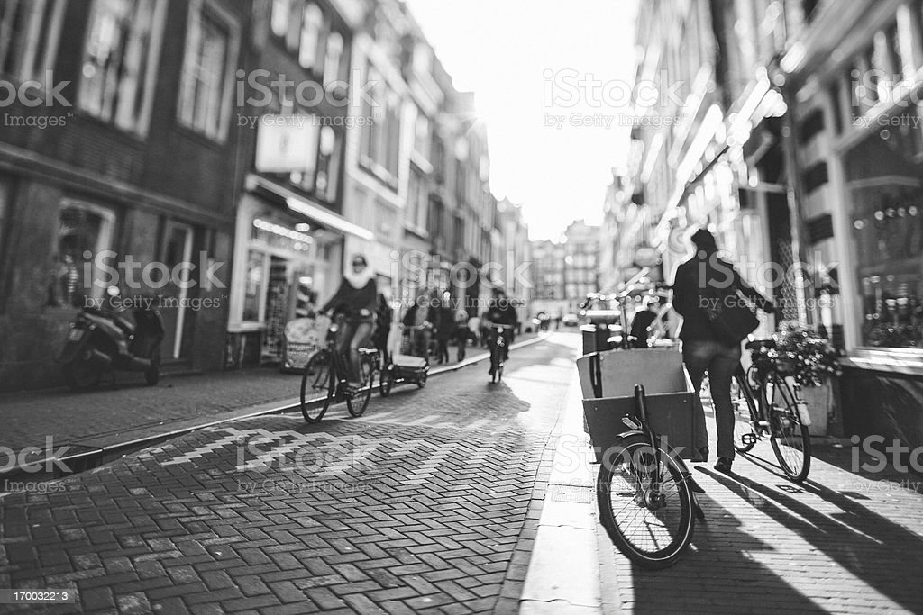Amsterdam City Life royalty-free stock photo