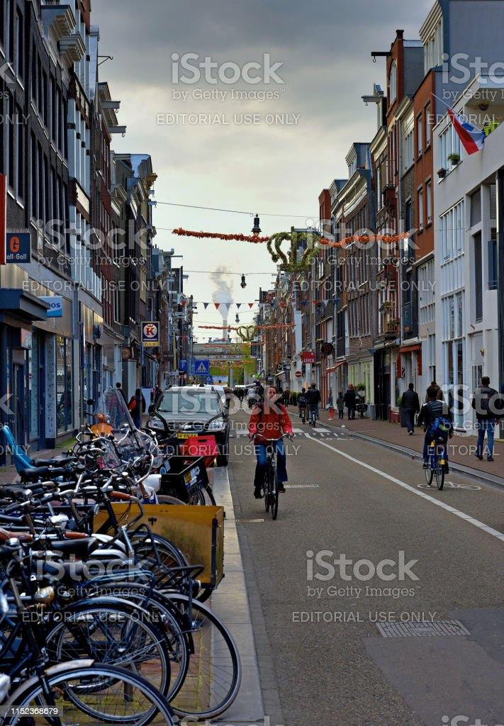 Bike, tram, boat or walk is the most common means of transport in the...