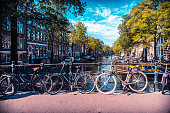 Amsterdam, Summer, City, Wheel, Netherlands