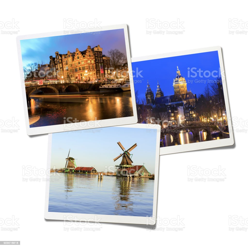 Amsterdam Collage Stock Photo & More Pictures of 2017 | iStock