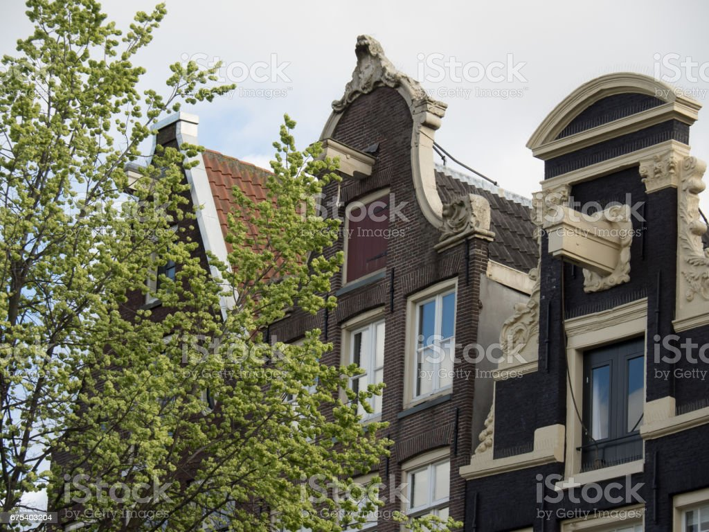 amsterdam in the netherlands royalty-free stock photo