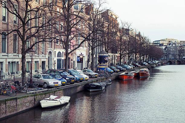 amsterdam, keizersgracht - keizersgracht stockfoto's en -beelden