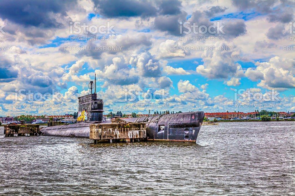 amsterdam old submarines – Foto