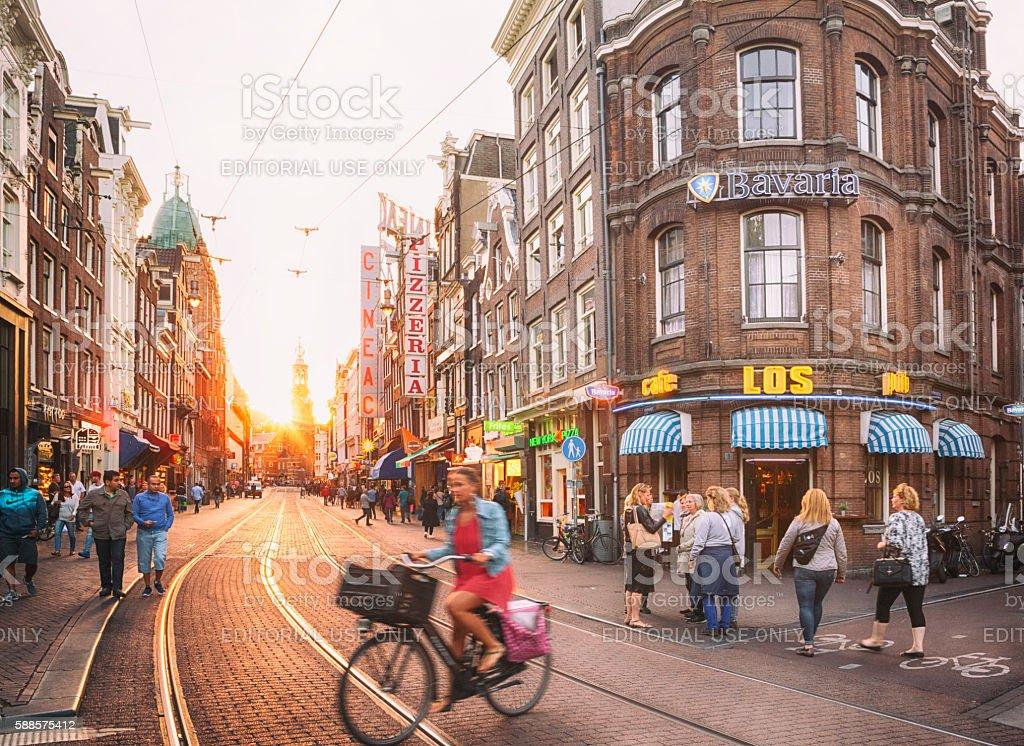 Amsterdam - Royalty-free Activiteit Stockfoto