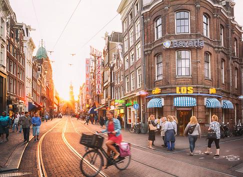 Amsterdam Stockfoto en meer beelden van Activiteit