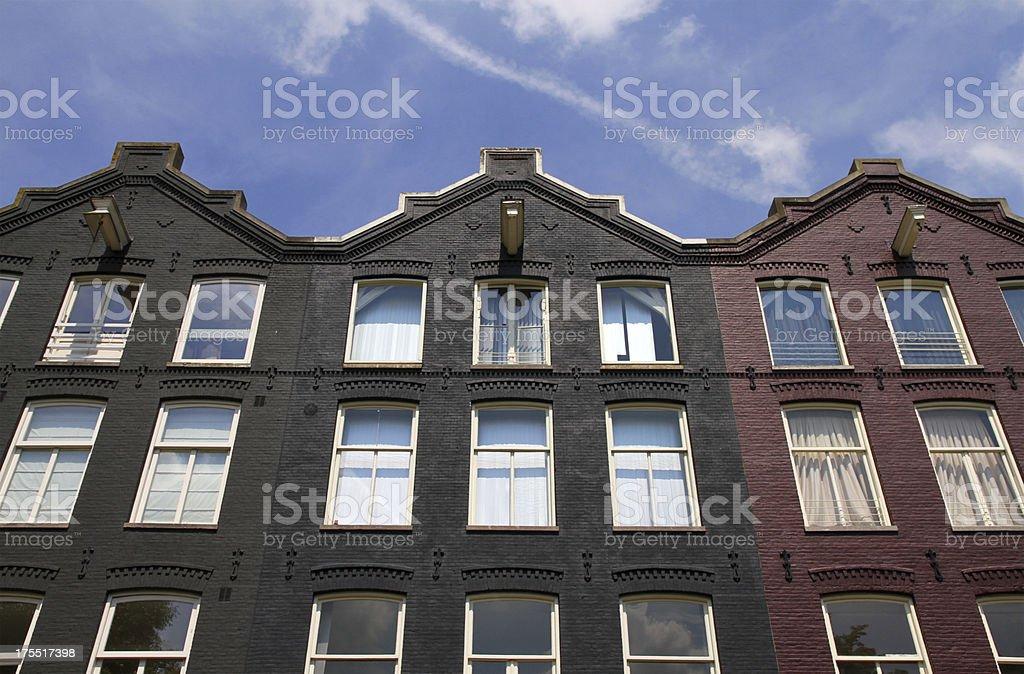 Amsterdam Rooftops stock photo