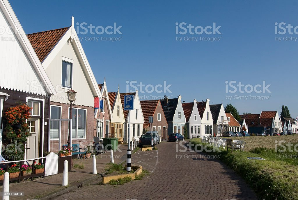 Amsterdam Rural Home royalty-free stock photo