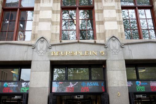 istock AEX Amsterdam Stock Exchange at Beursplein 5 458294397
