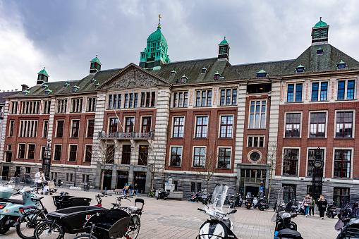 istock Amsterdam Stock Exchange Beursplein 5 1221376751