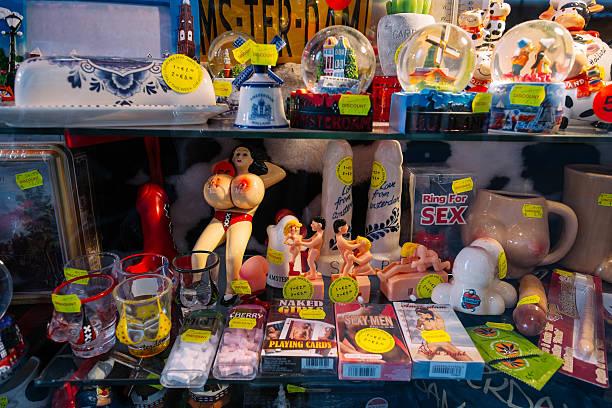 Amsterdam street souvenir - foto stock