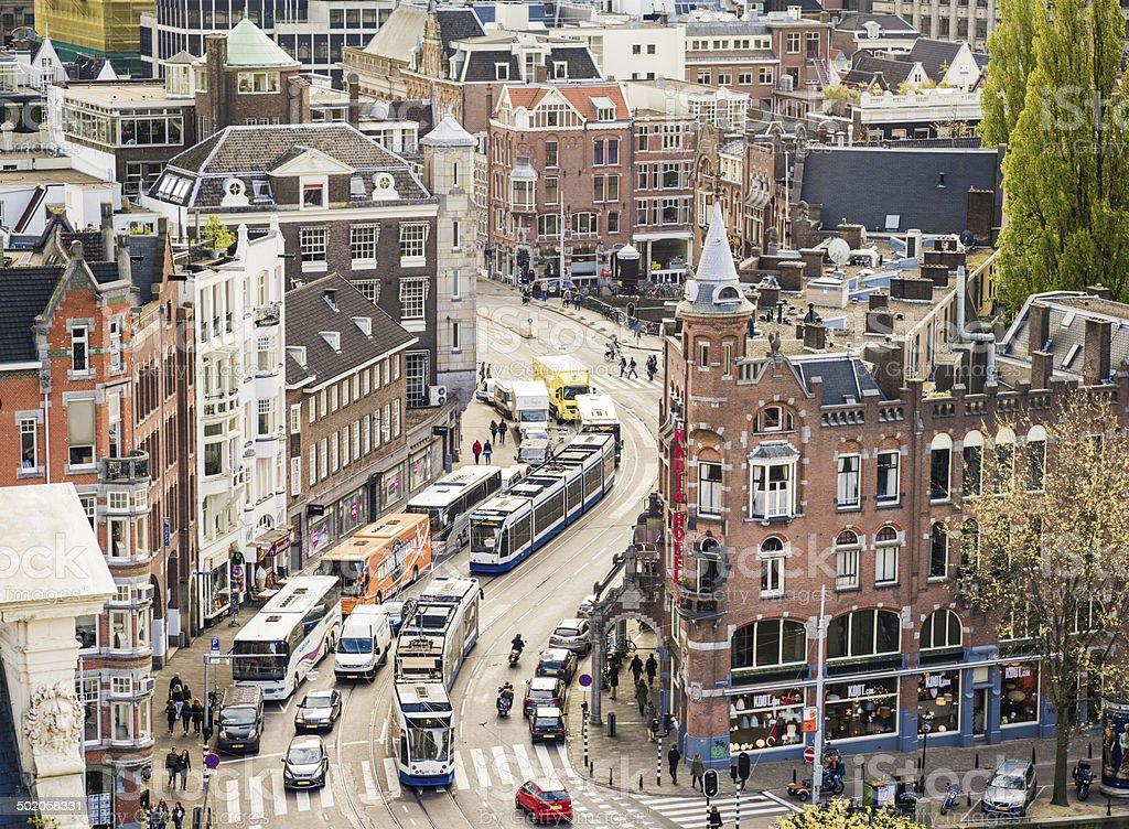 Amsterdam Transportation stock photo