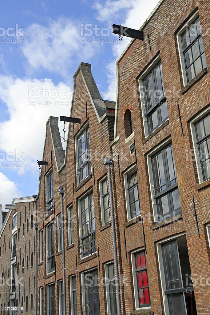 Amsterdam Walls stock photo