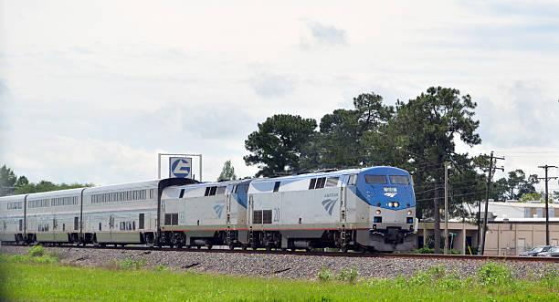 Amtrak Train stock photo