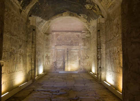 istock Amun Chapel, Temple of Abydos 118979498