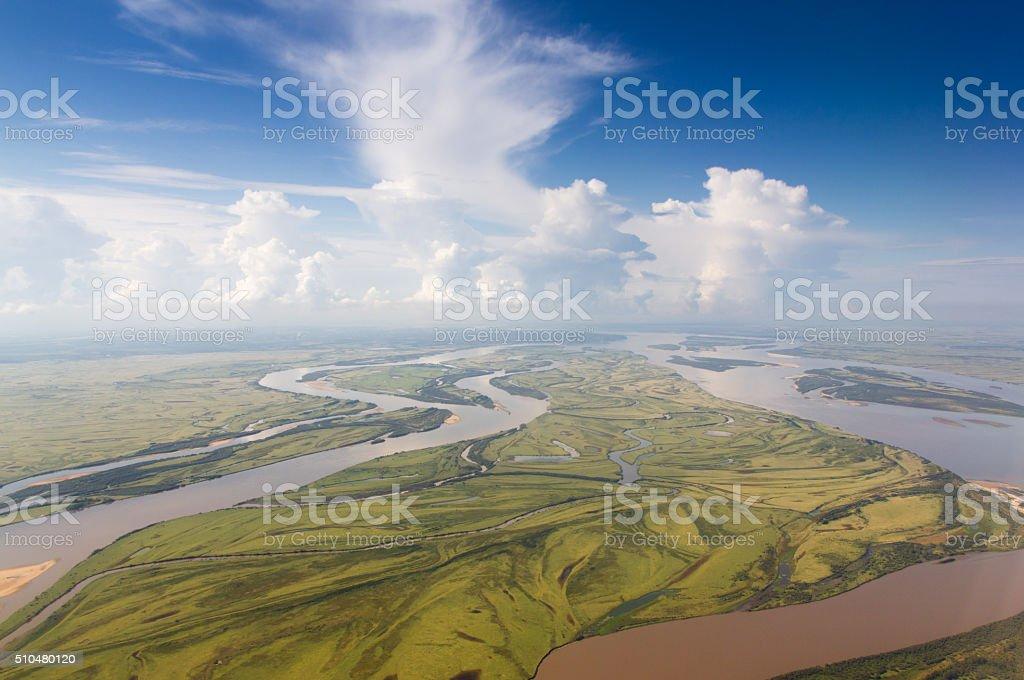 Amur Fluss nahe Chabarowsk – Foto