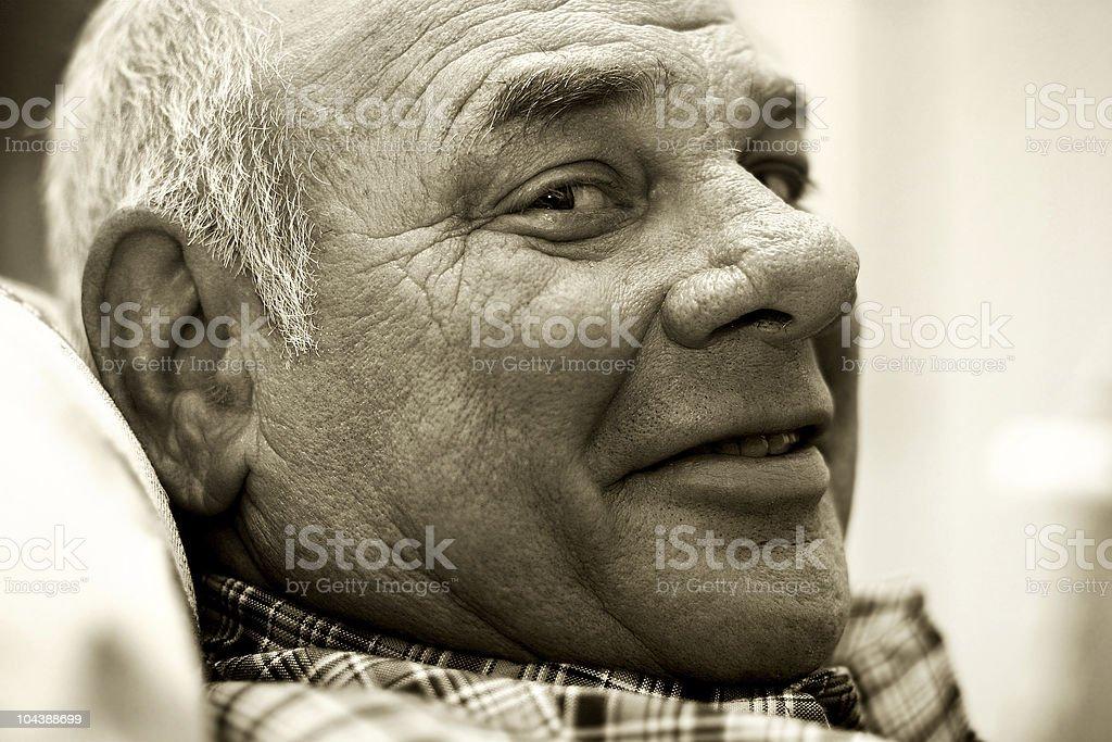 amused man stock photo