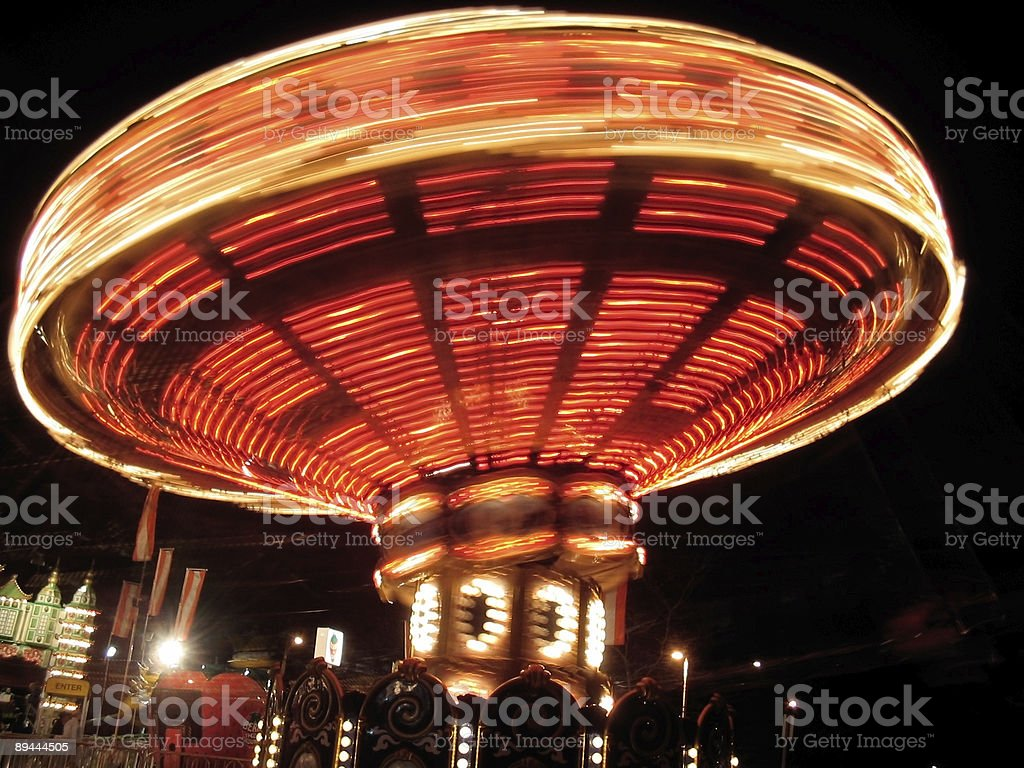 Amusement park attraction royalty-free stock photo