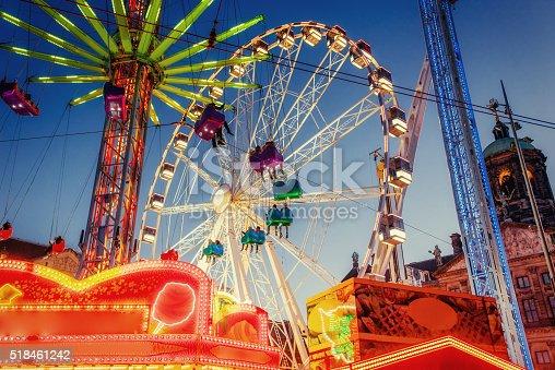 amusement park carousel