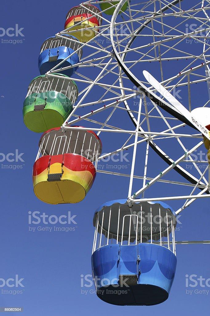 Amusement Park Ferris Wheel royalty-free stock photo