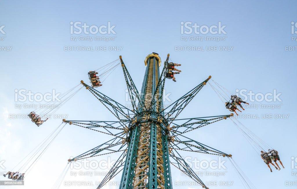 Pretpark in Wenen - Royalty-free Activiteit Stockfoto