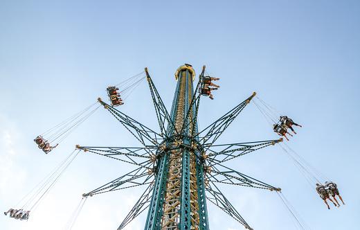 Pretpark In Wenen Stockfoto en meer beelden van Activiteit