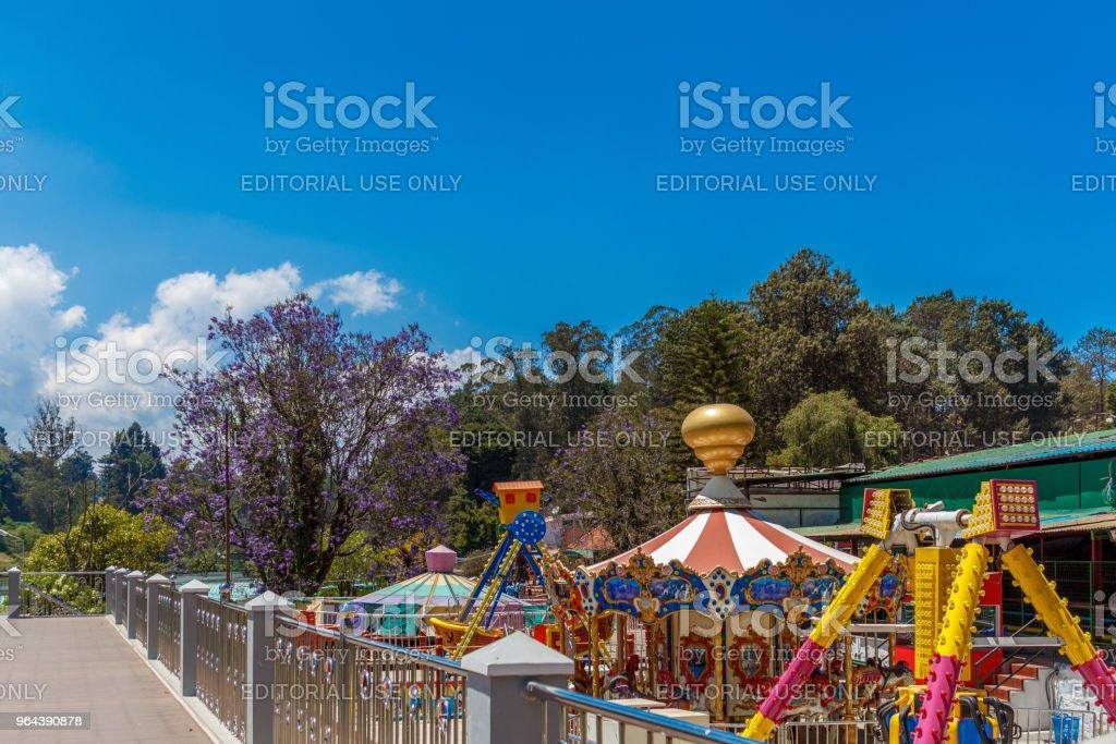 Amusement park - Royalty-free 30-39 jaar Stockfoto
